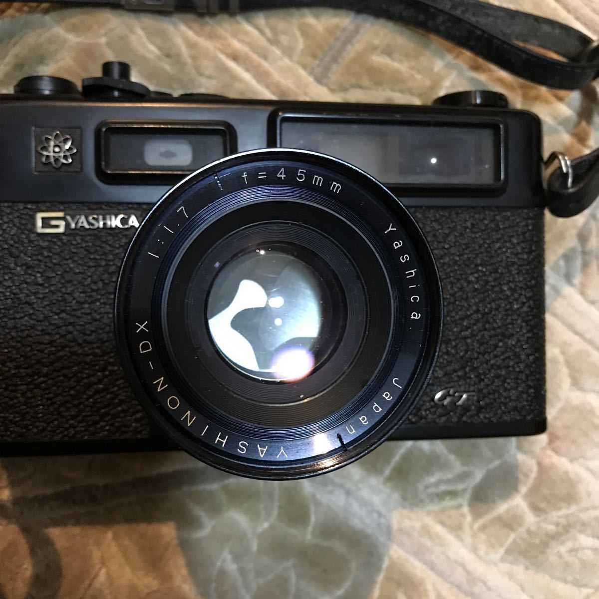 Yashica Electro 35 GT ブラック ヤシカ エレクトロ 35 レンジファインダー 一眼レフ フィルムカメラ_画像4