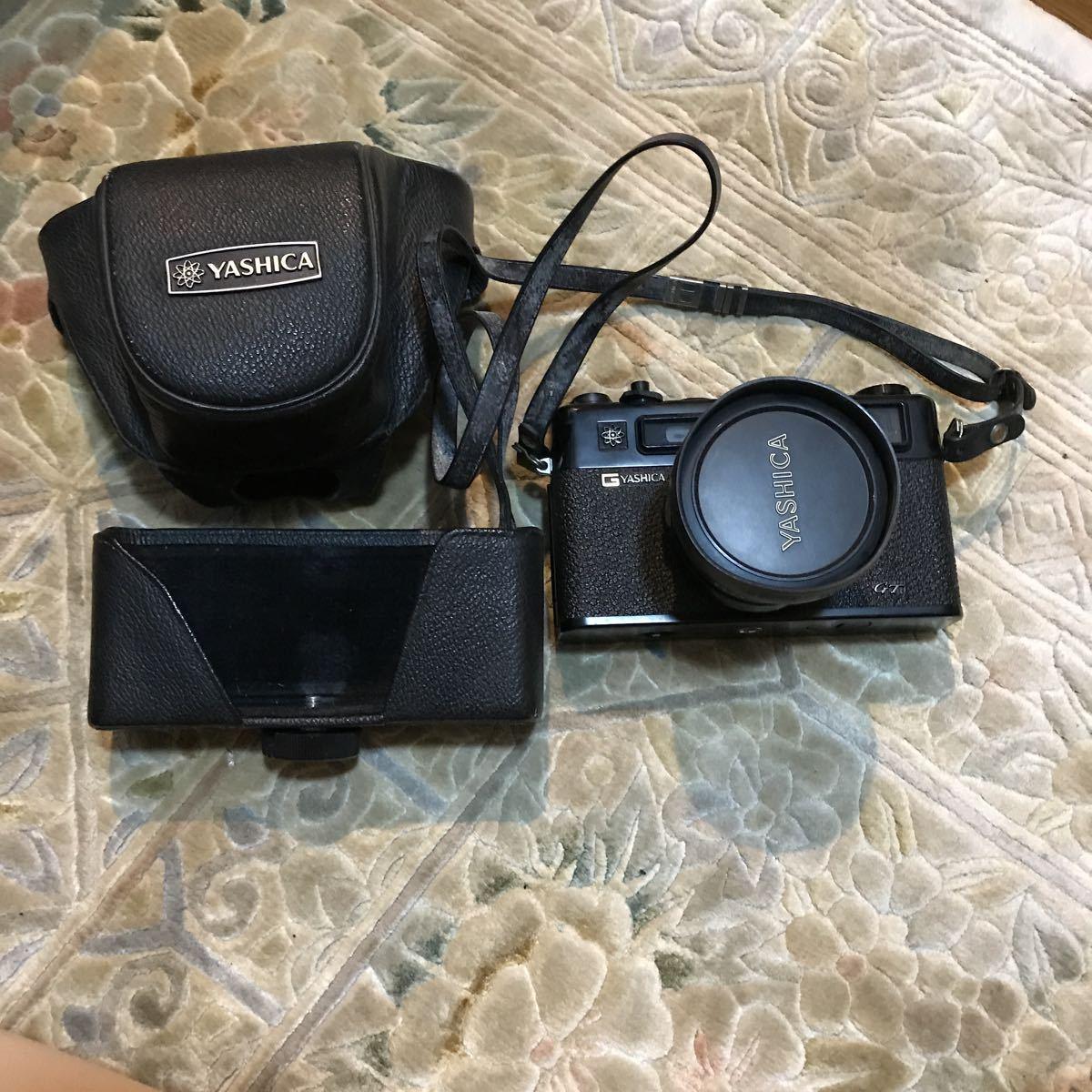 Yashica Electro 35 GT ブラック ヤシカ エレクトロ 35 レンジファインダー 一眼レフ フィルムカメラ