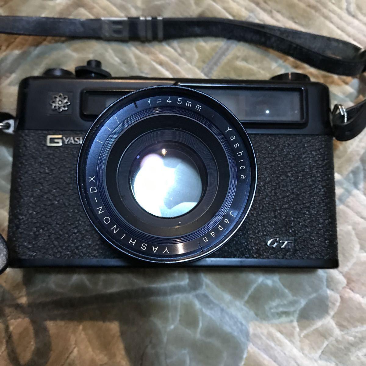 Yashica Electro 35 GT ブラック ヤシカ エレクトロ 35 レンジファインダー 一眼レフ フィルムカメラ_画像3