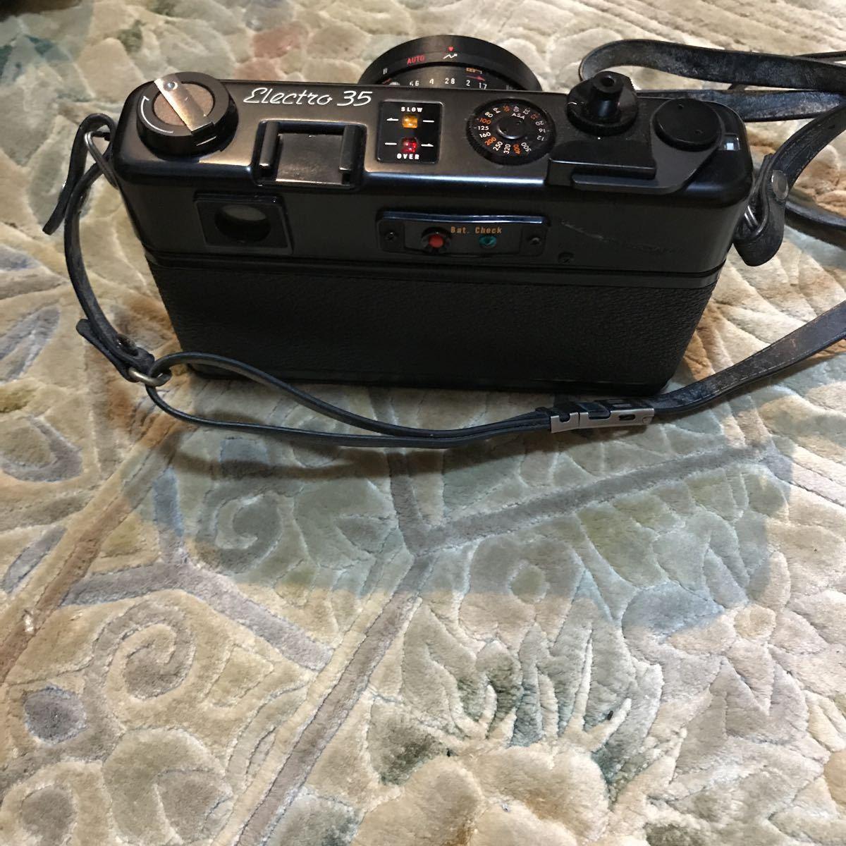 Yashica Electro 35 GT ブラック ヤシカ エレクトロ 35 レンジファインダー 一眼レフ フィルムカメラ_画像6