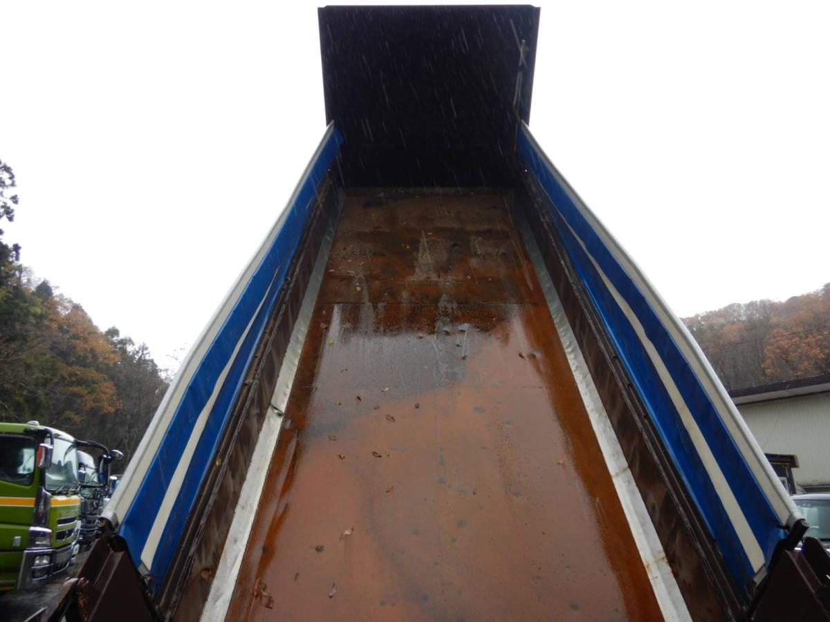 【CH15078】H20年 日野 プロフィア ダンプ ロングダンプ ハイルーフ 最大積載量10300kg 7速MT 内寸650 ナンバー付 消費税込み!_画像5
