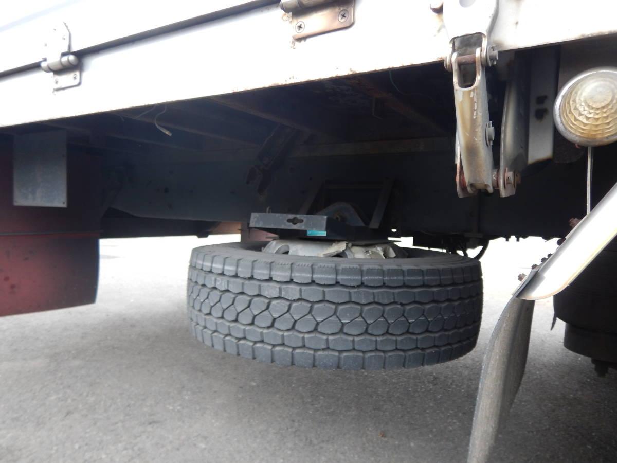 【CH15122】H25年 UDトラックス クオン アルミウィング ハイルーフ 総輪エアサス 4軸低床 実走60万km台 最大積載量10400kg 税込!_画像8