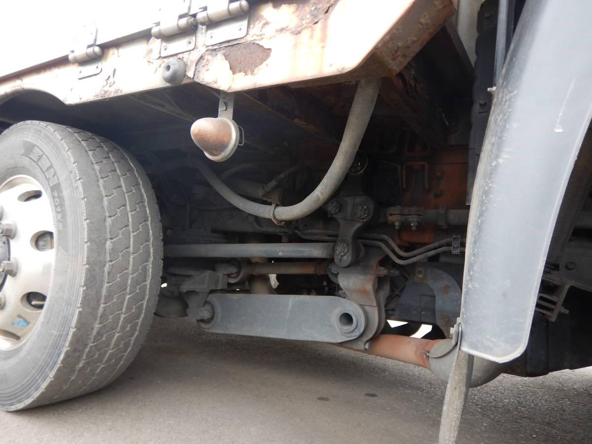 【CH15122】H25年 UDトラックス クオン アルミウィング ハイルーフ 総輪エアサス 4軸低床 実走60万km台 最大積載量10400kg 税込!_画像7