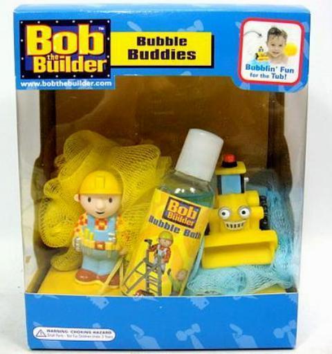 Free Shipping Bobza Builder Bob And Seat Boo Boobs Sponge 2 & Bubble Bath Meeting Set