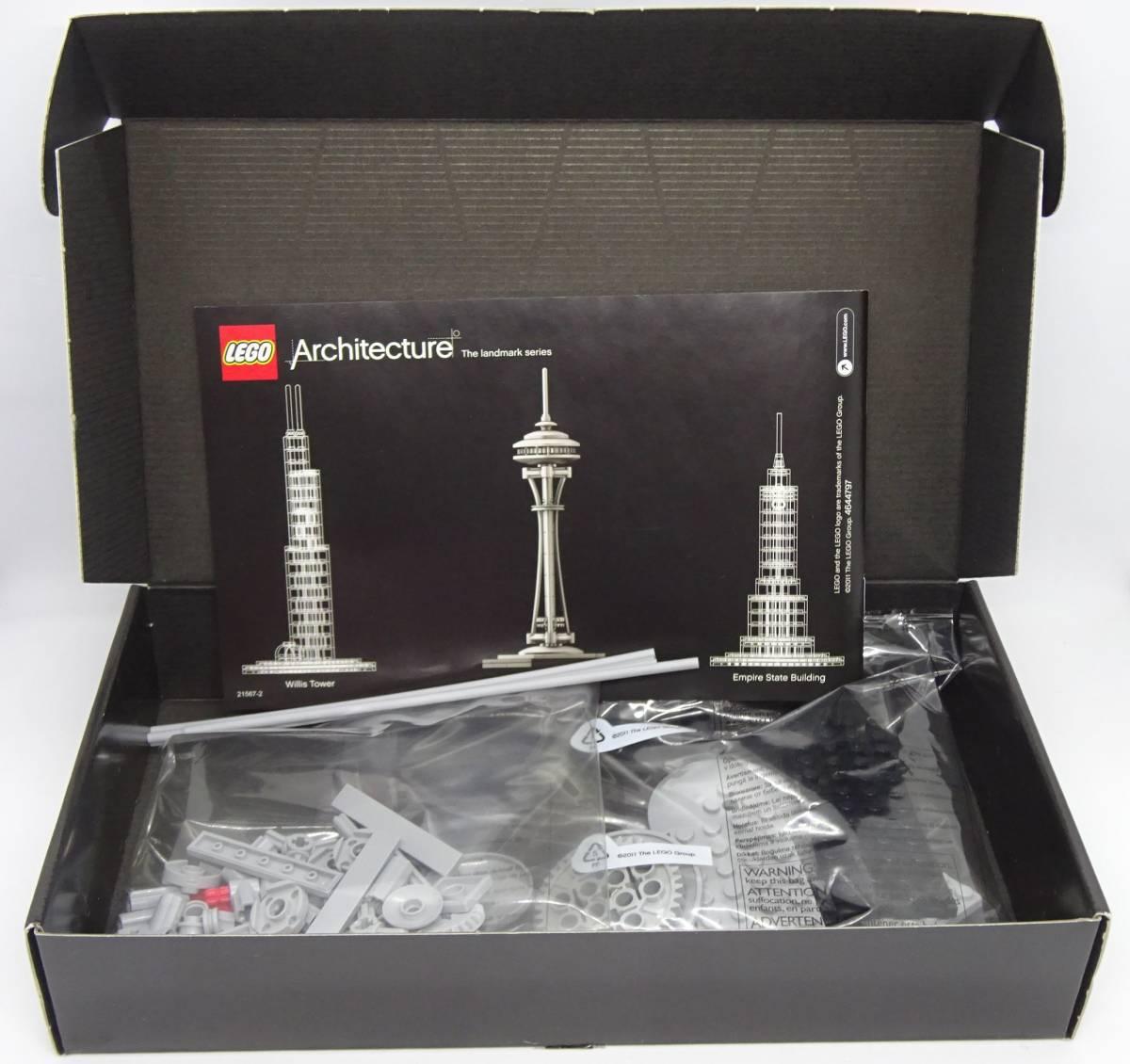 レゴ/LEGO アーキテクチャー シアトル スペース ニードル タワー 21003_画像2