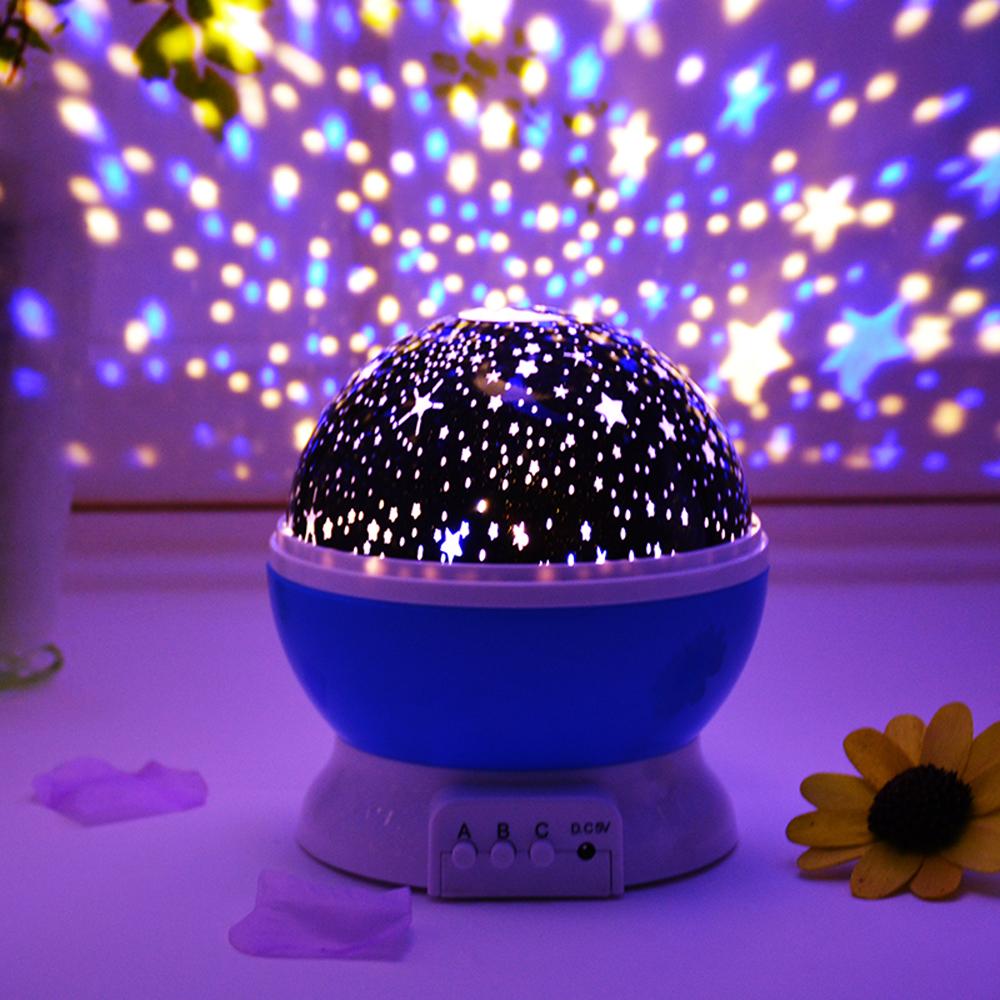 綺麗♪ プロジェクター 星 子供 おもちゃ 寝室 星空 夜空 女の子 男の子 月 スター ロマンチック 装飾 ライト イベント パーティー opn21_画像5