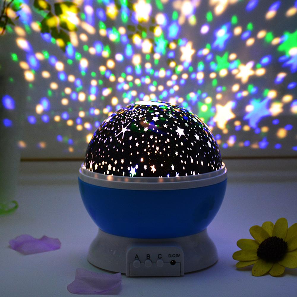 綺麗♪ プロジェクター 星 子供 おもちゃ 寝室 星空 夜空 女の子 男の子 月 スター ロマンチック 装飾 ライト イベント パーティー opn21_画像4