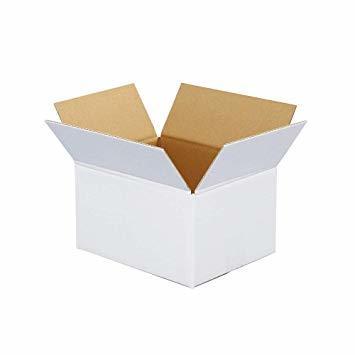 ボックスバンク ダンボール(段ボール箱)60サイズ 白 5枚セット 引越し・収納 FW08-0001_画像1