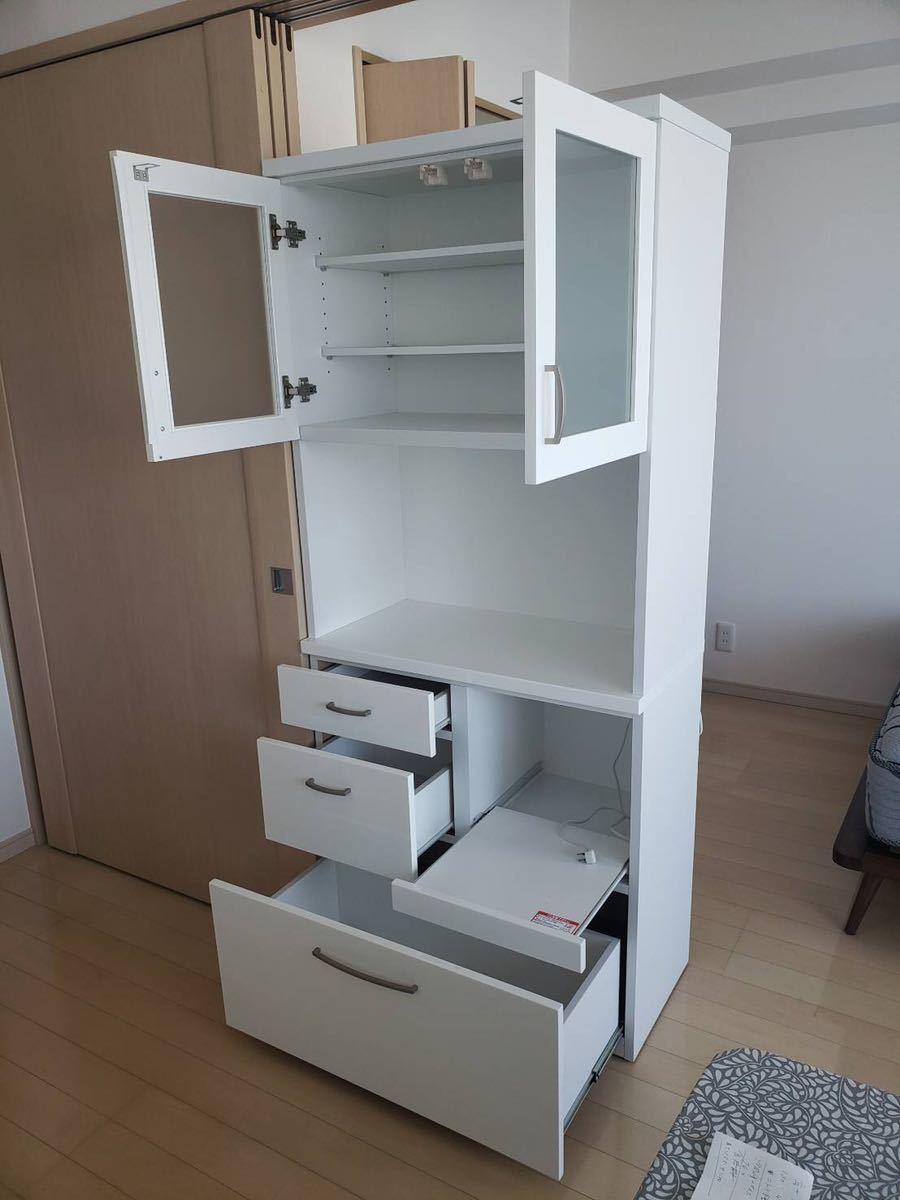 ニトリで購入 食器棚 使用感少なめ 文京区まで取りに来れる方_画像4