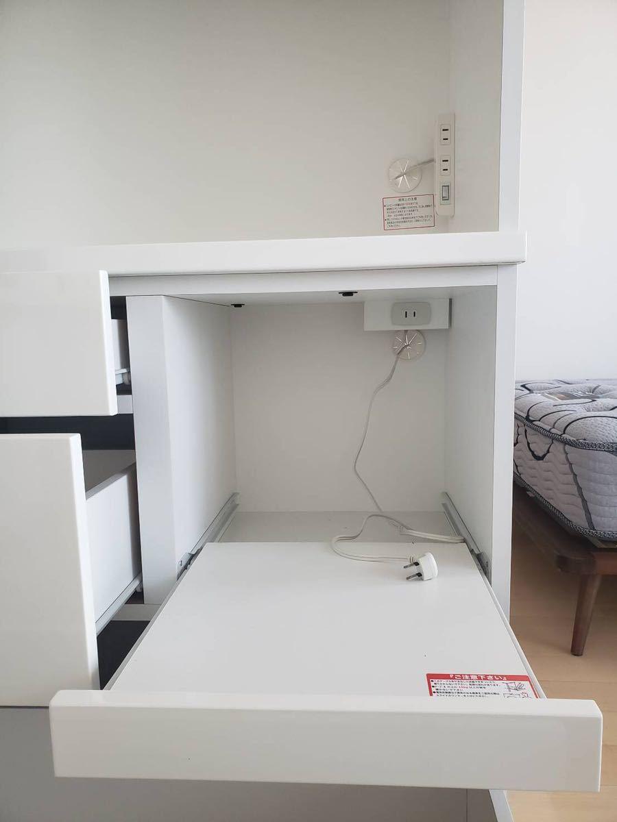 ニトリで購入 食器棚 使用感少なめ 文京区まで取りに来れる方_画像7