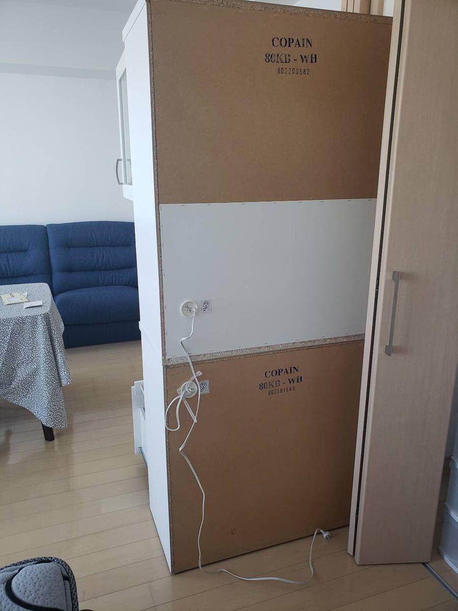 ニトリで購入 食器棚 使用感少なめ 文京区まで取りに来れる方_画像5
