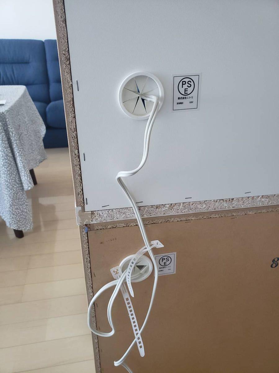 ニトリで購入 食器棚 使用感少なめ 文京区まで取りに来れる方_画像6