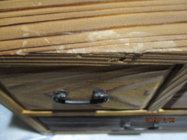 ★小箪笥★飾り棚★収納ボックス★引出し★アクセサリーボックス★化粧ケース★木工★木製★工芸★インテリア★アンティーク★_★スレ・キズあり