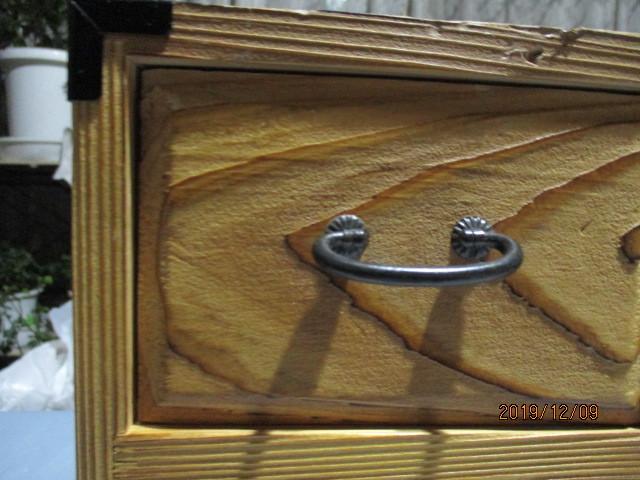 ★小箪笥★飾り棚★収納ボックス★引出し★アクセサリーボックス★化粧ケース★木工★木製★工芸★インテリア★アンティーク★_★少しゆがみあり。出し入れはスムーズです