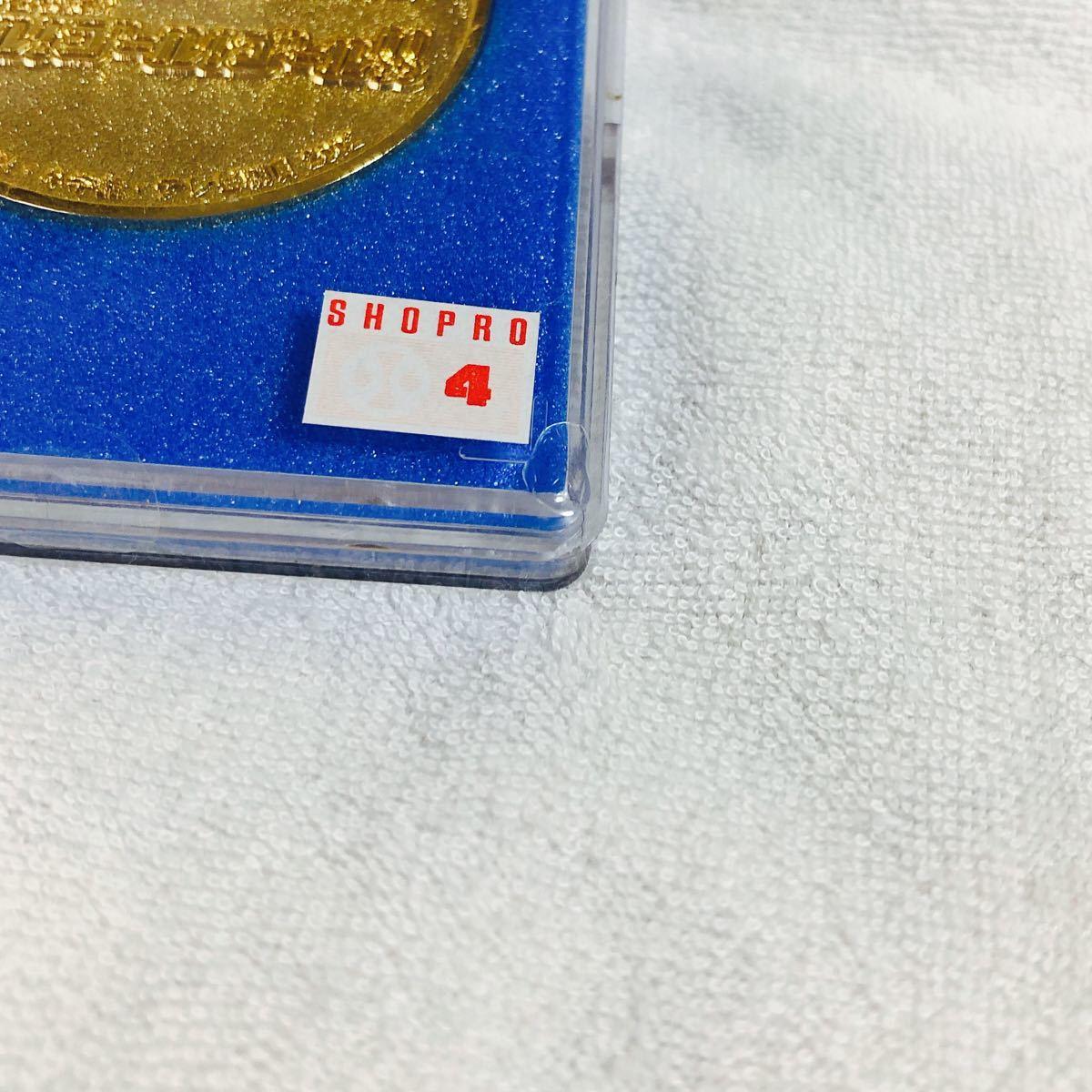 劇場版☆映画ドラえもん♪のび太とロボット王国!記念メダル 2002