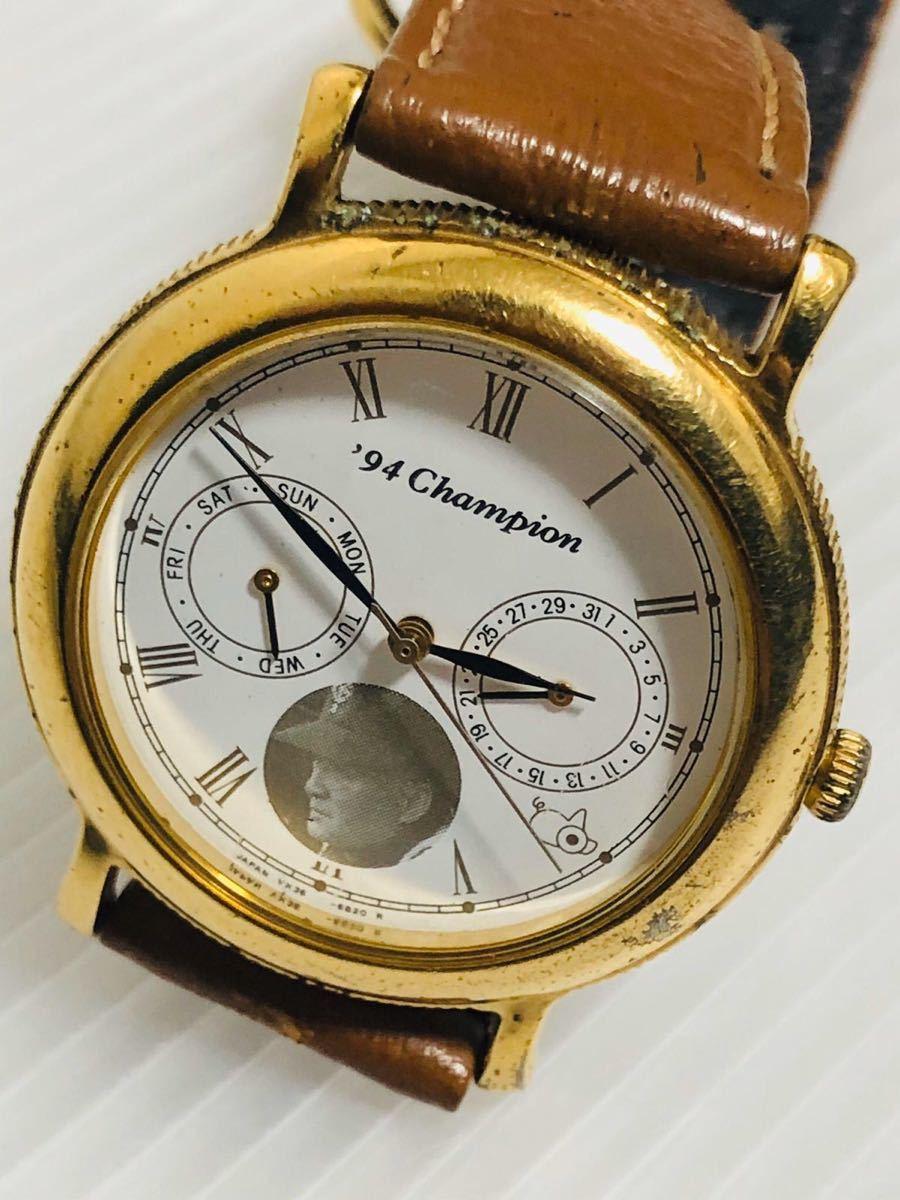 94 Champion: メンズ腕時計 、長嶋ジャイアンツ 日本一記念 94劇空間プロ野球 日本テレビ_画像2