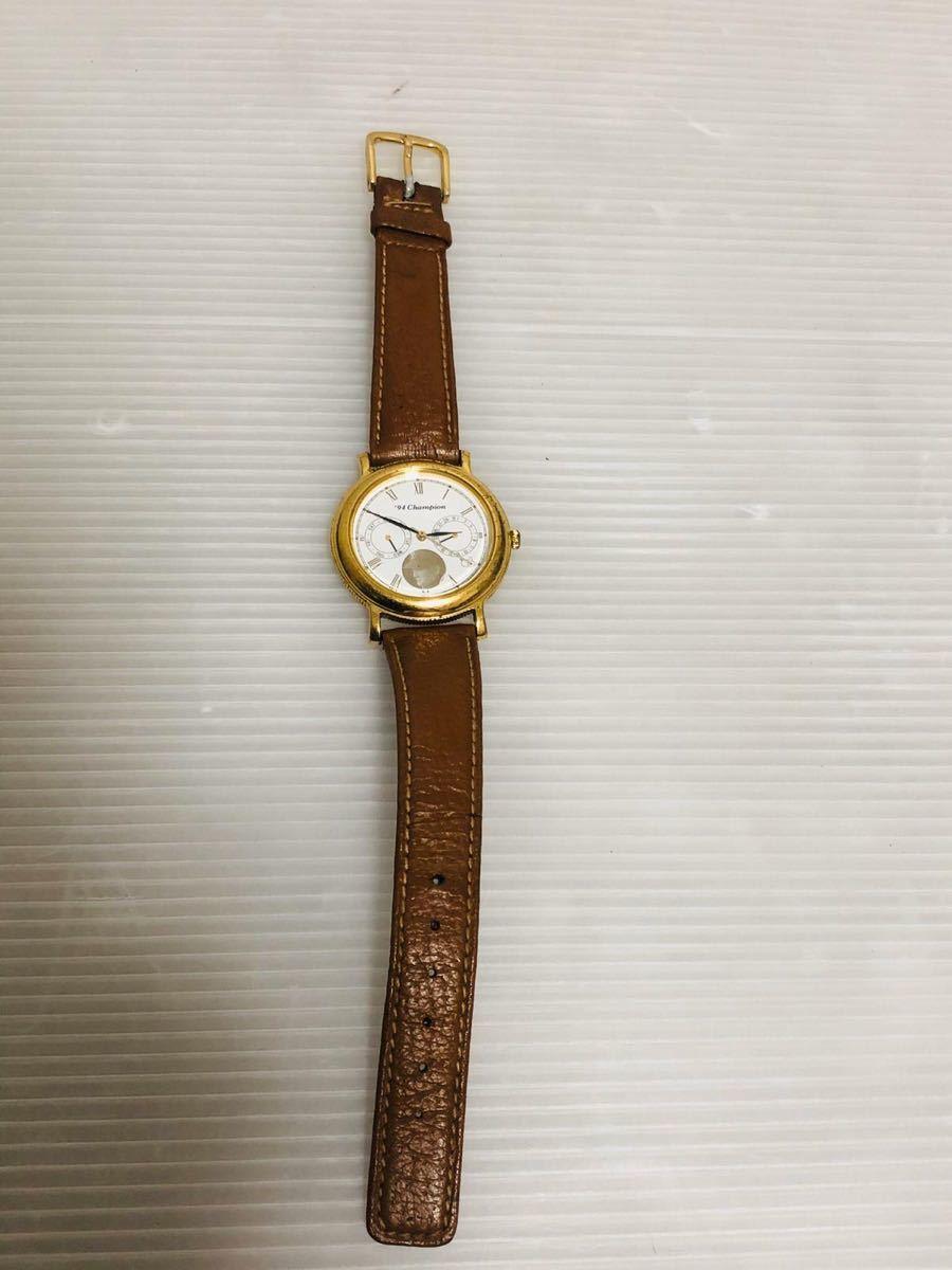 94 Champion: メンズ腕時計 、長嶋ジャイアンツ 日本一記念 94劇空間プロ野球 日本テレビ_画像4