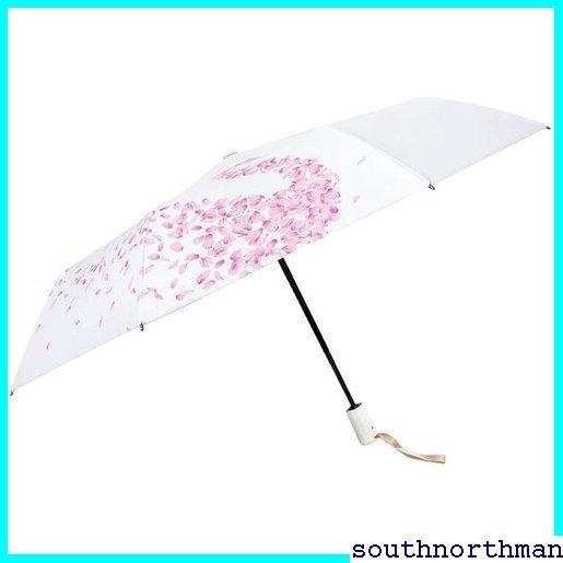 ★特価★ 日傘 軽量 折り畳み傘 レディース 撥水 耐風 遮熱 完全遮光 uvカット紫外 晴雨兼用 折りたたみ傘 自動開閉 667_画像5
