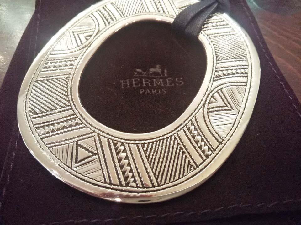 新品未使用 海外正規店購入 HERMES/エルメス トゥアレグ ネックレス チョーカー 入手困難_画像3