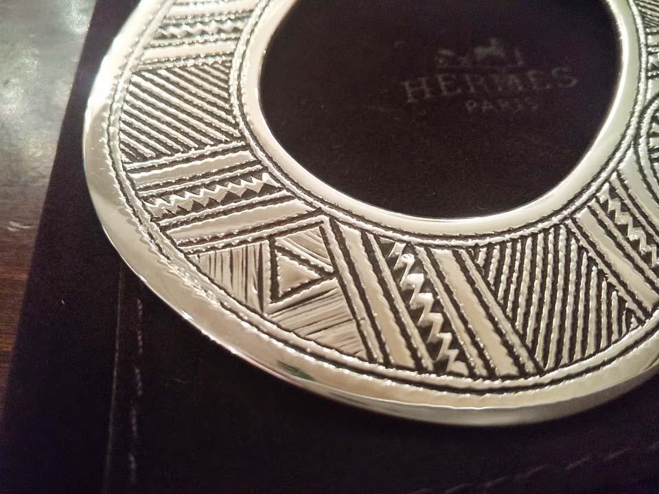新品未使用 海外正規店購入 HERMES/エルメス トゥアレグ ネックレス チョーカー 入手困難_画像4