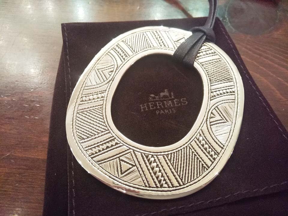 新品未使用 海外正規店購入 HERMES/エルメス トゥアレグ ネックレス チョーカー 入手困難_画像2