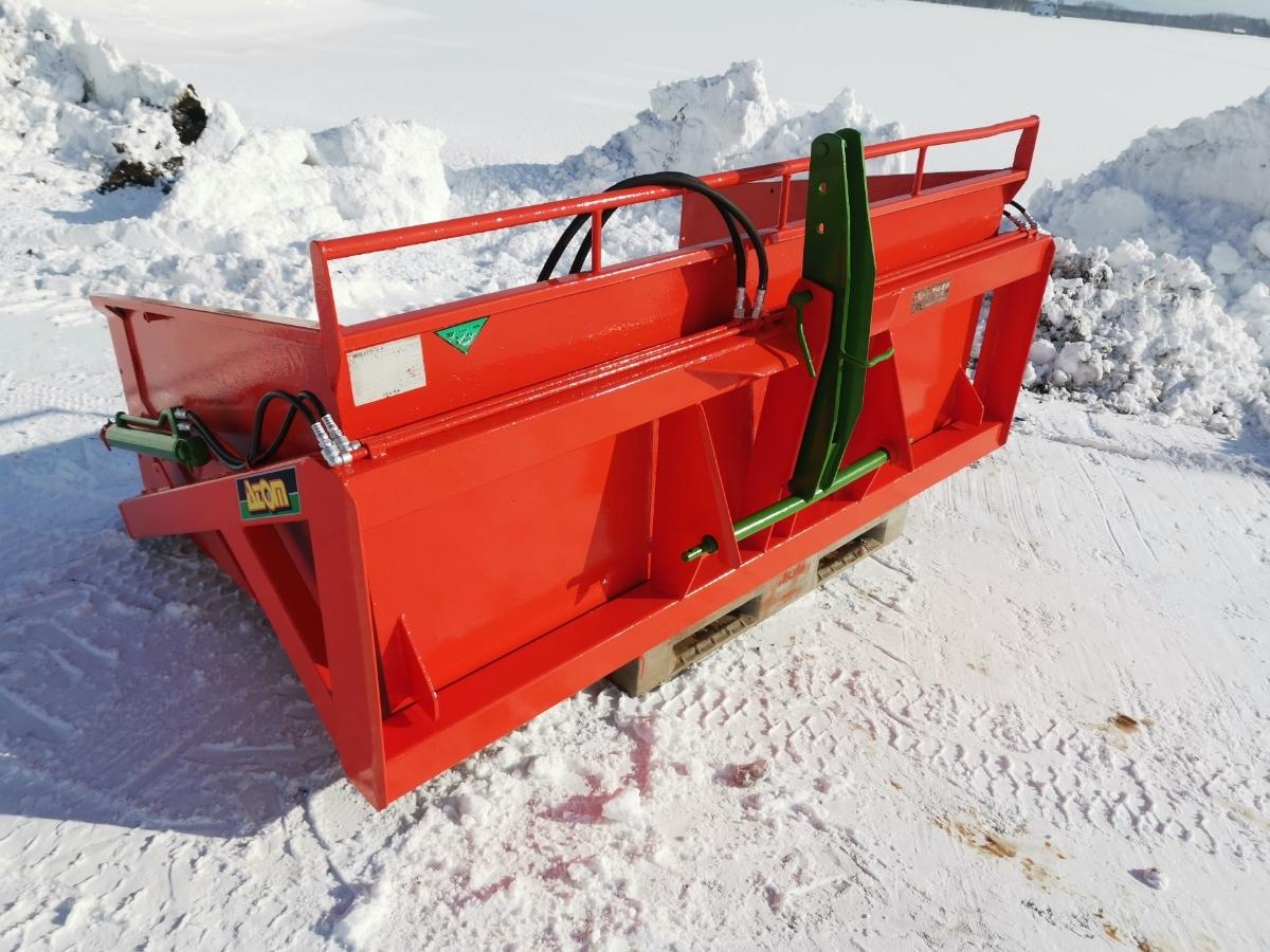 アトム農機 油圧バケット20F-1!除雪に!スノーブロワー トラクター 除雪機 除雪車 北海道札幌近郊より_画像1
