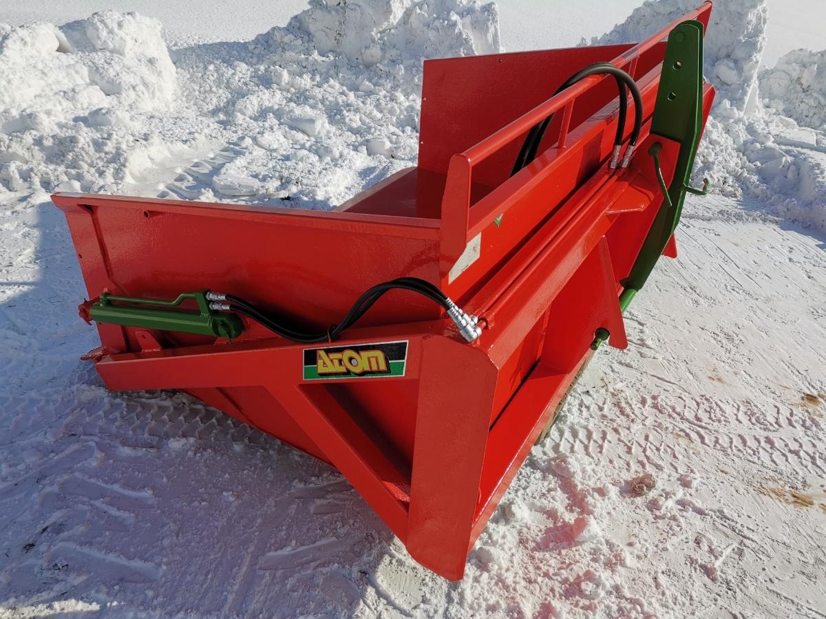 アトム農機 油圧バケット20F-1!除雪に!スノーブロワー トラクター 除雪機 除雪車 北海道札幌近郊より_画像3