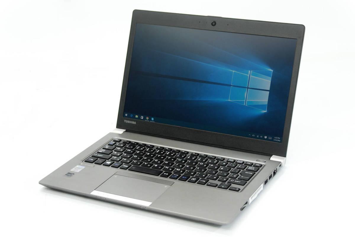 Dynabook R634/L Core i5 4300U 1.90GHz 128GB 4GB 無線 Bluetooth HDMI Windows10 Office2007 1_画像1
