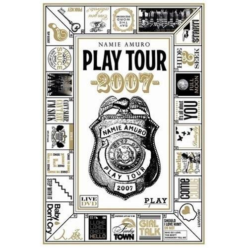 新品 安室奈美恵 namie amuro PLAY tour 2007 DVD(4988064915330)(通常盤)