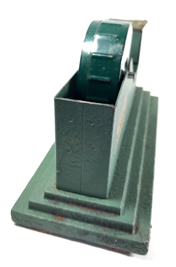 アンティークテープカッター/鉄/店舗什器/アールデコ/デスク/照明/ランプ/ビンテージ/デスクチェア/椅子/GRAS/モダン/バウハウス/デザイン_画像4