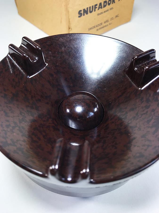 1940's【アール・デコ】マーブルベイクライト 灰皿/バー/モダン/デザイン/バウハウス/Gras/アンティーク/店舗什器/ビンテージ/デスクランプ_画像5