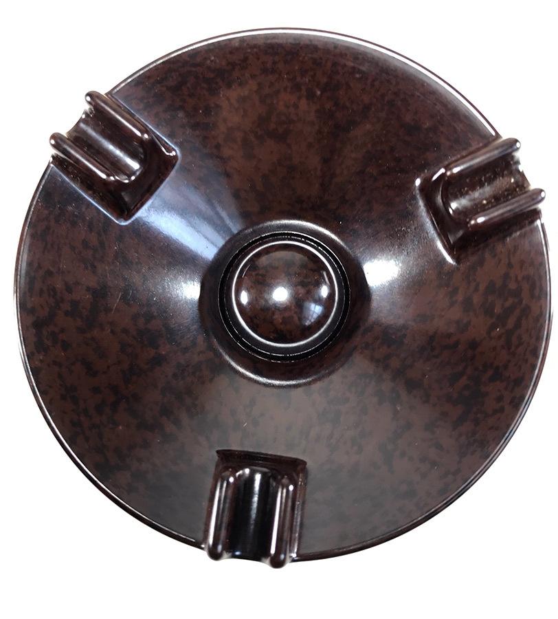 1940's【アール・デコ】マーブルベイクライト 灰皿/バー/モダン/デザイン/バウハウス/Gras/アンティーク/店舗什器/ビンテージ/デスクランプ_画像4