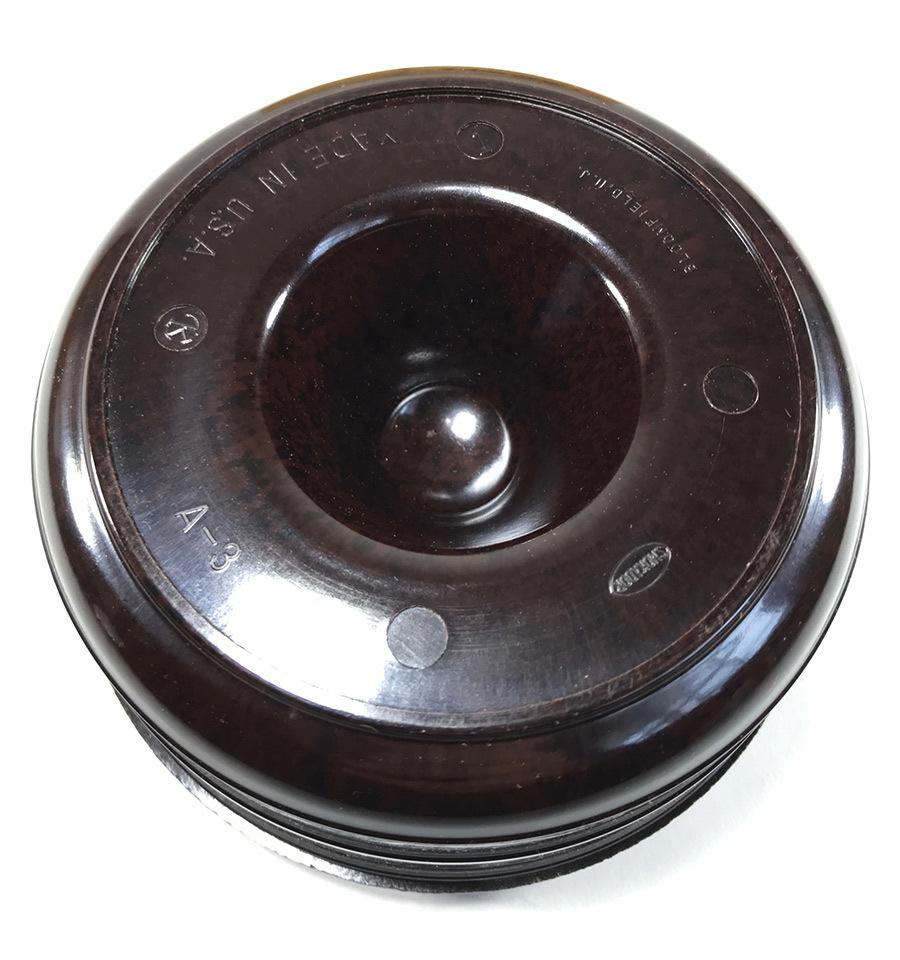 1940's【アール・デコ】マーブルベイクライト 灰皿/バー/モダン/デザイン/バウハウス/Gras/アンティーク/店舗什器/ビンテージ/デスクランプ_画像3