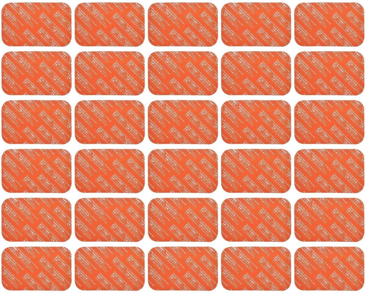 追跡番号付【送料無料】 SIXPAD シックスパッド 互換 ジェルシート 30枚 清潔密封パック Abs Fit アブズフィット Abs Fit2 対応 腹部用 EMS_画像2