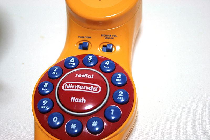 【1円スタート】2002年 マリオカート64 電話機 MARIO KART 64 Super Mario Kart Telephone【日本未発売】_画像7