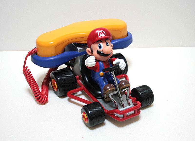 【1円スタート】2002年 マリオカート64 電話機 MARIO KART 64 Super Mario Kart Telephone【日本未発売】
