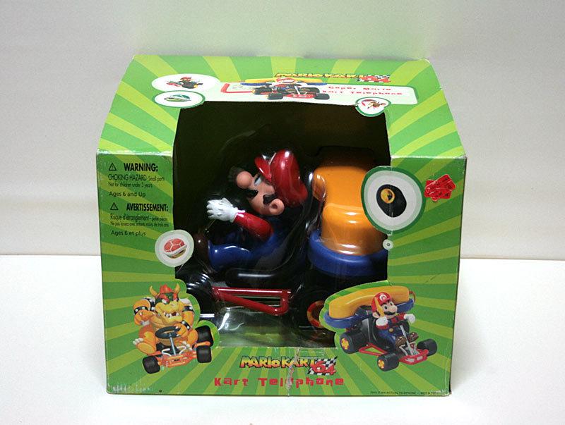 【1円スタート】2002年 マリオカート64 電話機 MARIO KART 64 Super Mario Kart Telephone【日本未発売】_画像9