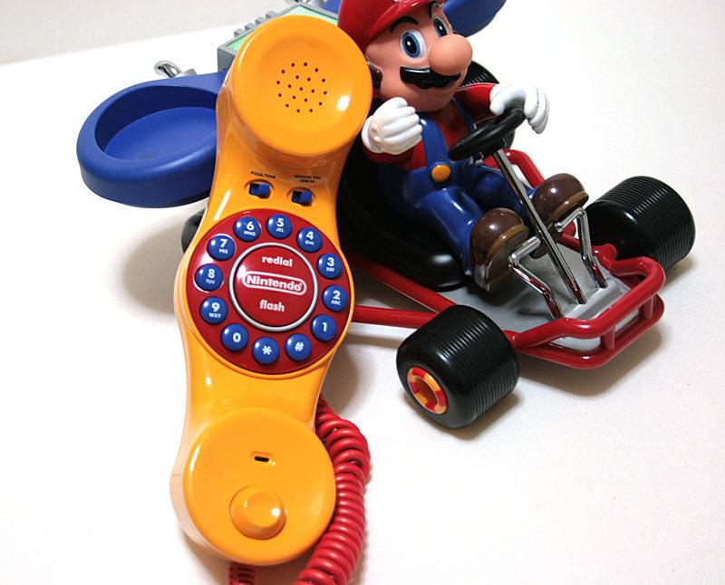 【1円スタート】2002年 マリオカート64 電話機 MARIO KART 64 Super Mario Kart Telephone【日本未発売】_画像3