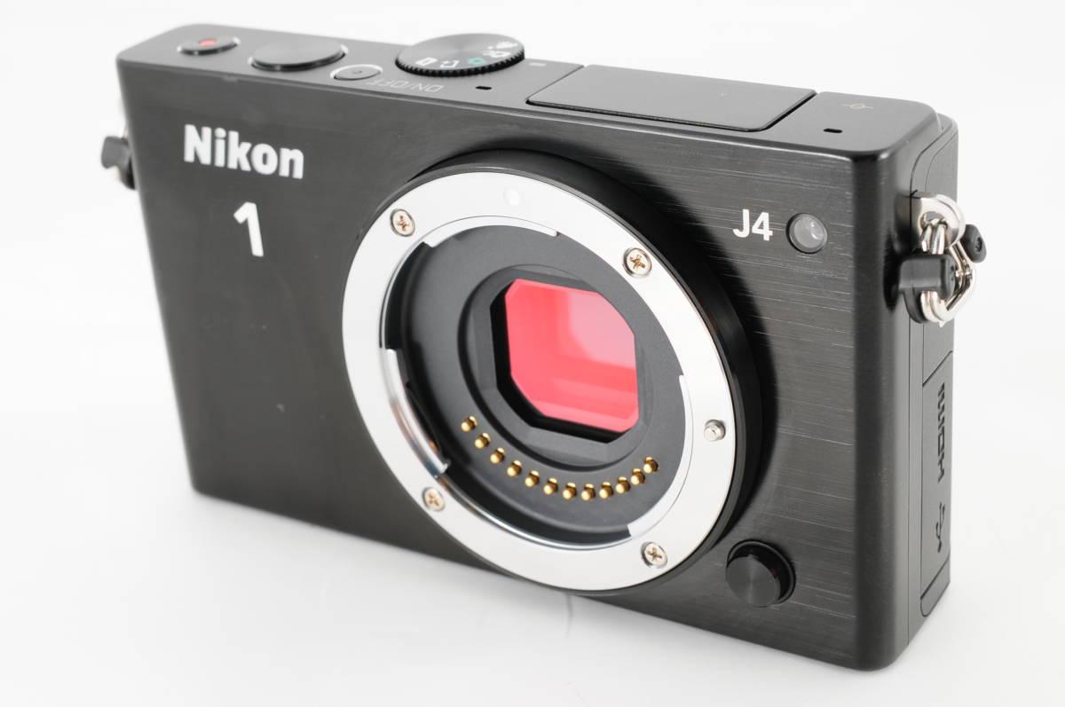 ★使用回数2回・ほぼ新品★ニコン Nikon 1 J4 ボディ 付属品 超衝撃吸収カメラケース付★専門店動作確認済 Wi-Fi搭載 新品購入ワンオーナー_画像2