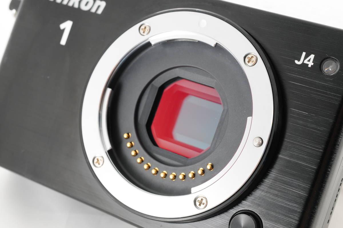 ★使用回数2回・ほぼ新品★ニコン Nikon 1 J4 ボディ 付属品 超衝撃吸収カメラケース付★専門店動作確認済 Wi-Fi搭載 新品購入ワンオーナー_画像8