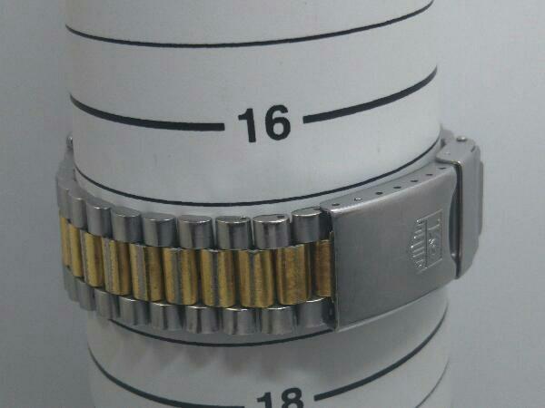 TAG HEUER タグホイヤー プロフェッショナル 934 206 デイト ゴールド 腕時計 クォーツ 電池式 ステンレスベルト メンズ_画像7
