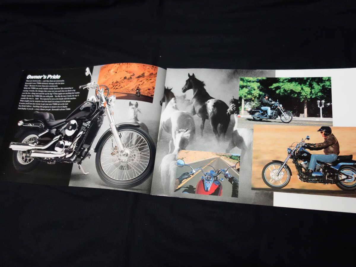 【¥600 即決】カワサキ VN800 VN800-A型 専用カタログ 英語版 1994年 【輸出仕様】_画像2