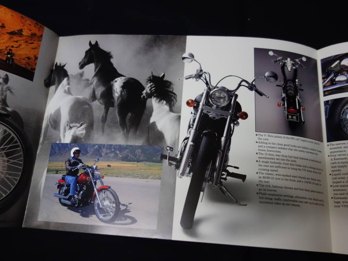 【¥600 即決】カワサキ VN800 VN800-A型 専用カタログ 英語版 1994年 【輸出仕様】_画像6