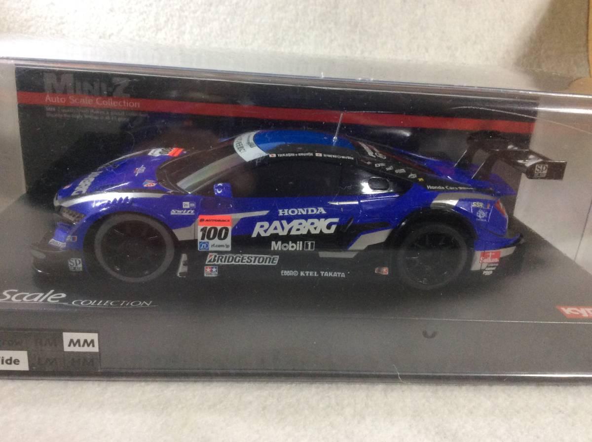 京商 ミニッツ ボディ レイブリッグ RAYBRIG NSX CONCEPT-GT 2014 mini-z オートスケール MR03 ASC Auto Scale レイブリック
