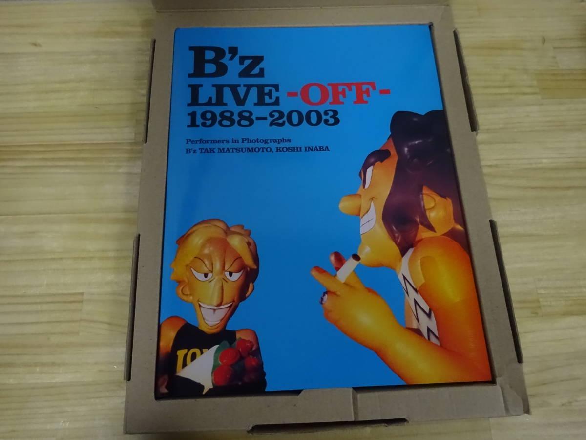 J/あ4☆ B'z ライブ グッズ まとめて6点セット LIVE ON OFF 1988-2003 / BIG MACHINE 写真集 / カレンダー /クリアファイル 2組_画像5