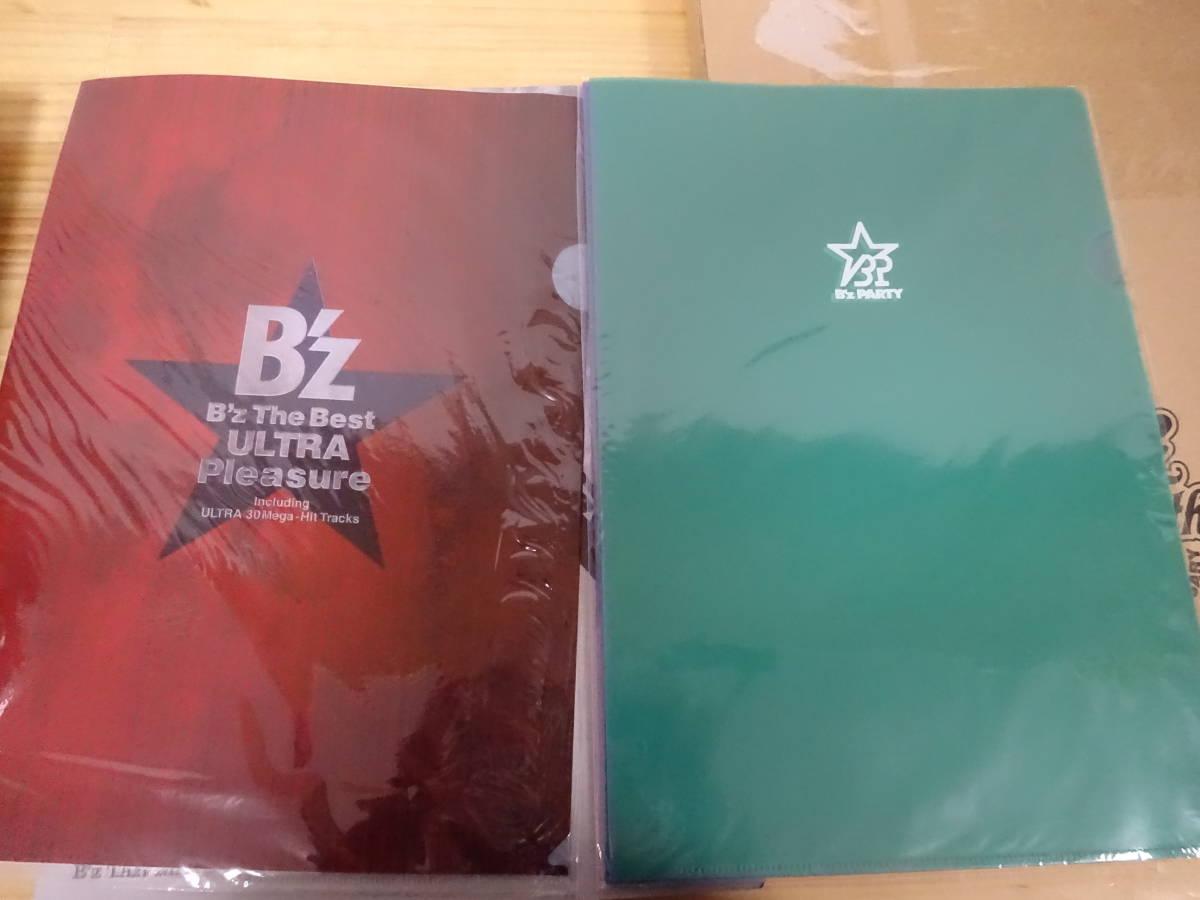 J/あ4☆ B'z ライブ グッズ まとめて6点セット LIVE ON OFF 1988-2003 / BIG MACHINE 写真集 / カレンダー /クリアファイル 2組_画像4