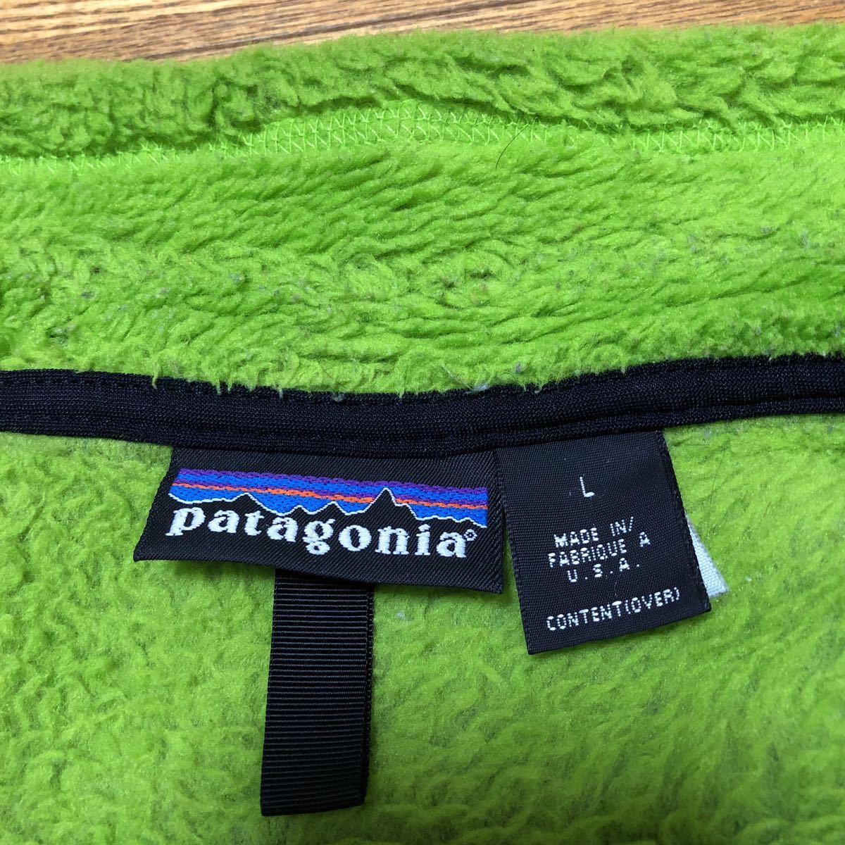 【美品】パタゴニア PATAGONIA R2 アルパインファー プルオーバー R2 ALPINEFUR PULLOVER レトロX フリースジャケット RETRO USA アメリカ_画像3