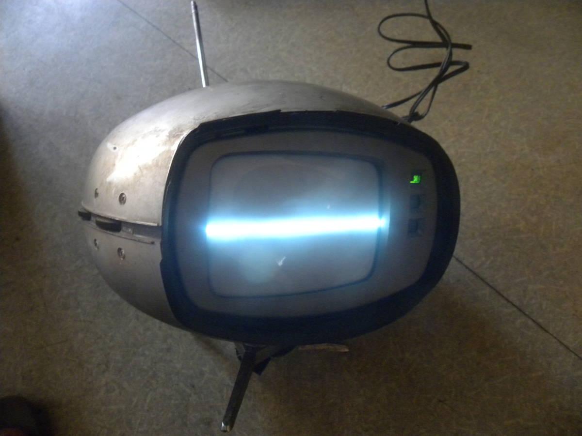 ナショナル ブラウン管テレビ レトロ ヴィンテージ レア ブラウン管テレビ 年式不明 ジャンク品
