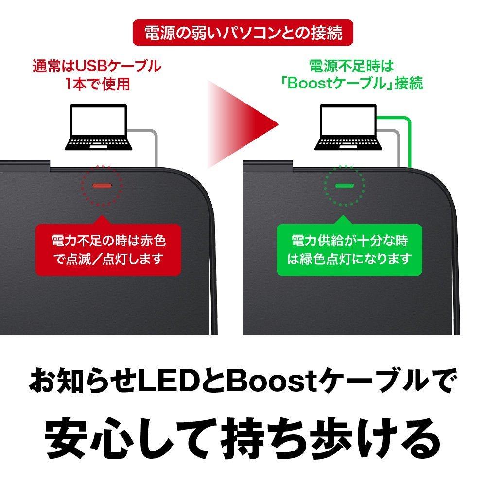 【送料無料】 BUFFALO USB3.1(Gen1)/3.0 外付け DVD/CDドライブ Wケーブル(給電ケーブル付き) Window/Mac ブラック DVSM-PTV8U3-BK/N 黒