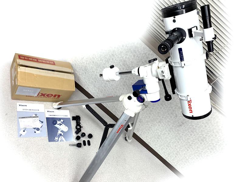 ■Vixen R130sf 天体望遠鏡 GP2 赤道儀 セット ビクセン■